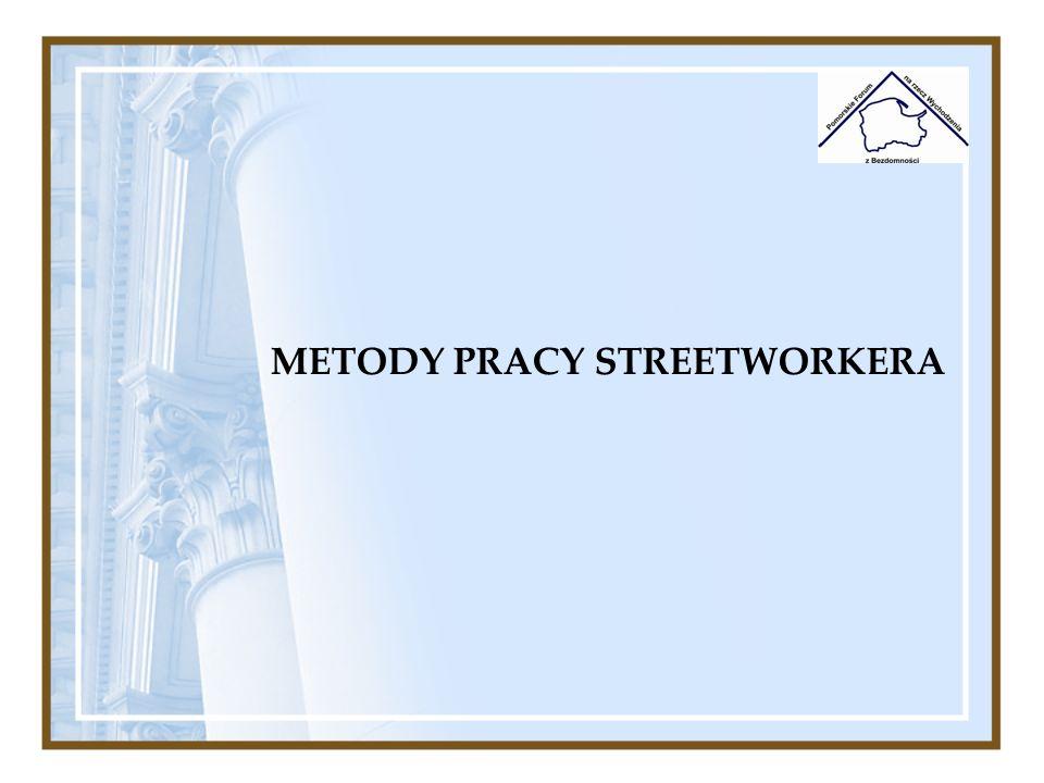 Czas pracy: Streetworkerzy niezależnie od miejsca zatrudnienia powinni posiadać elastyczne godziny realizacji swojej pracy.