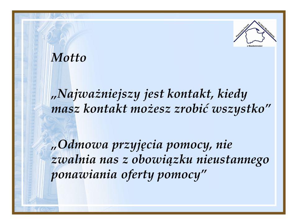 Materialne: - Bilety komunikacji miejskiej – swoboda przemieszczania w terenie jest warunkiem koniecznym do realizacji pracy streetworkerów.
