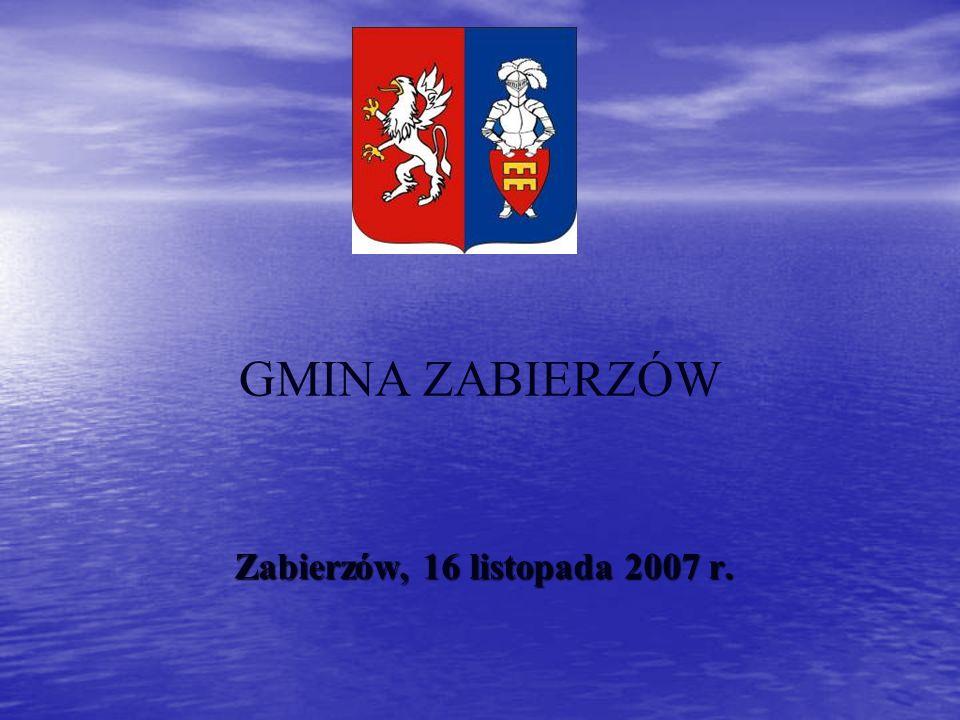 DZIAŁALNOŚĆ GOSPODARCZA Na terenie gminy Zabierzów obecnie zarejestrowanych jest 2 224 podmiotów gospodarczych.
