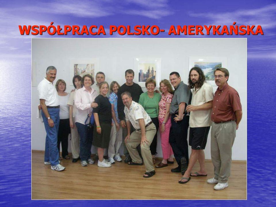 WSPÓŁPRACA POLSKO- AMERYKAŃSKA