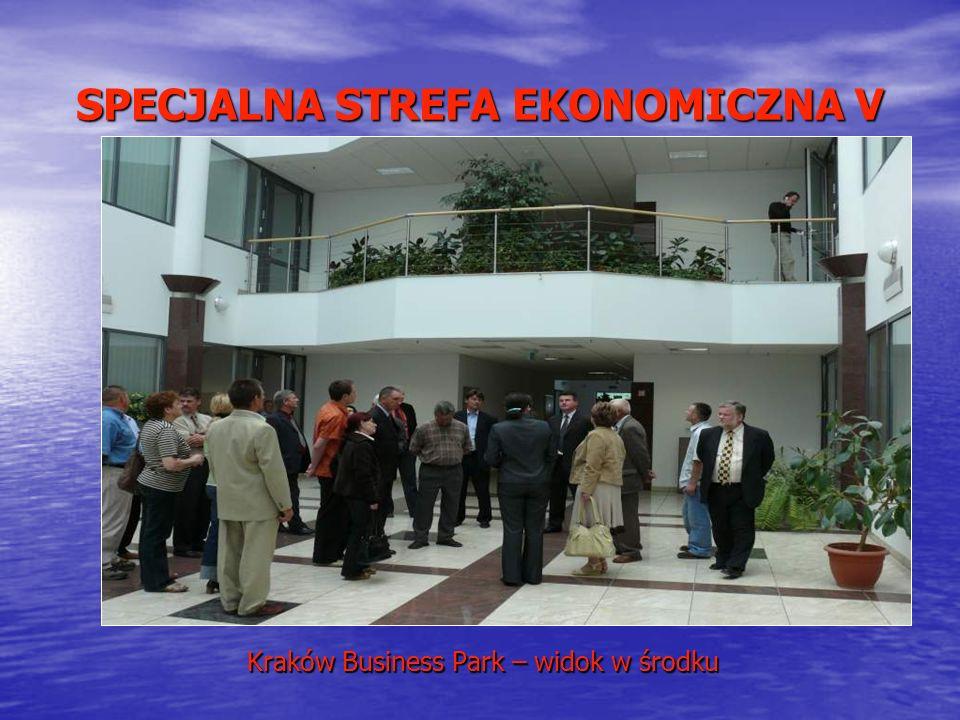 SPECJALNA STREFA EKONOMICZNA V Kraków Business Park – widok w środku