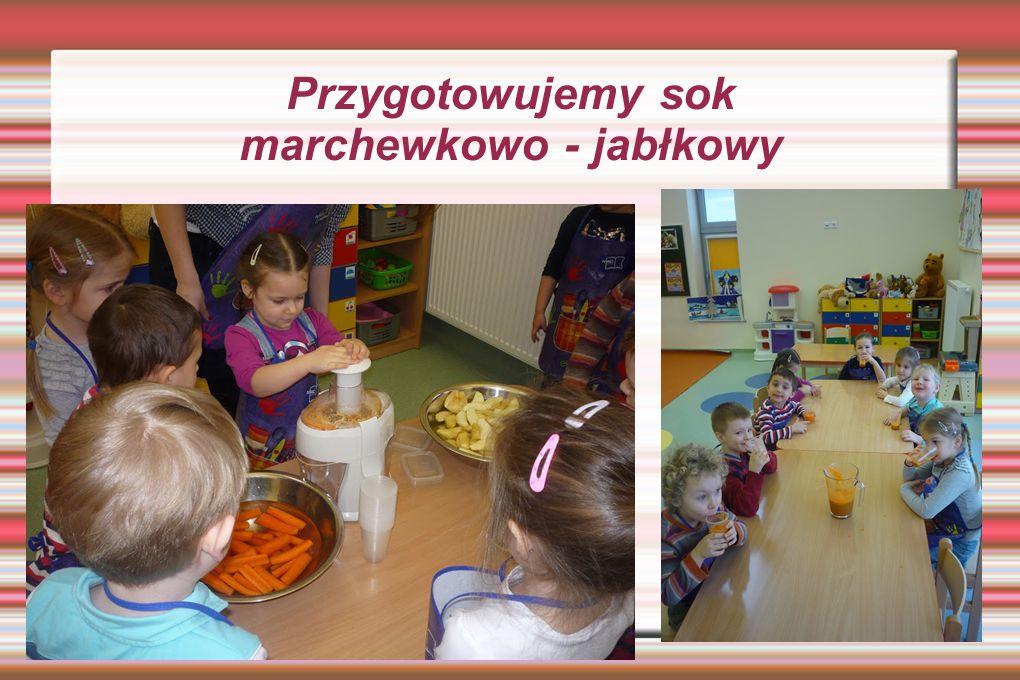 Przygotowujemy sok marchewkowo - jabłkowy