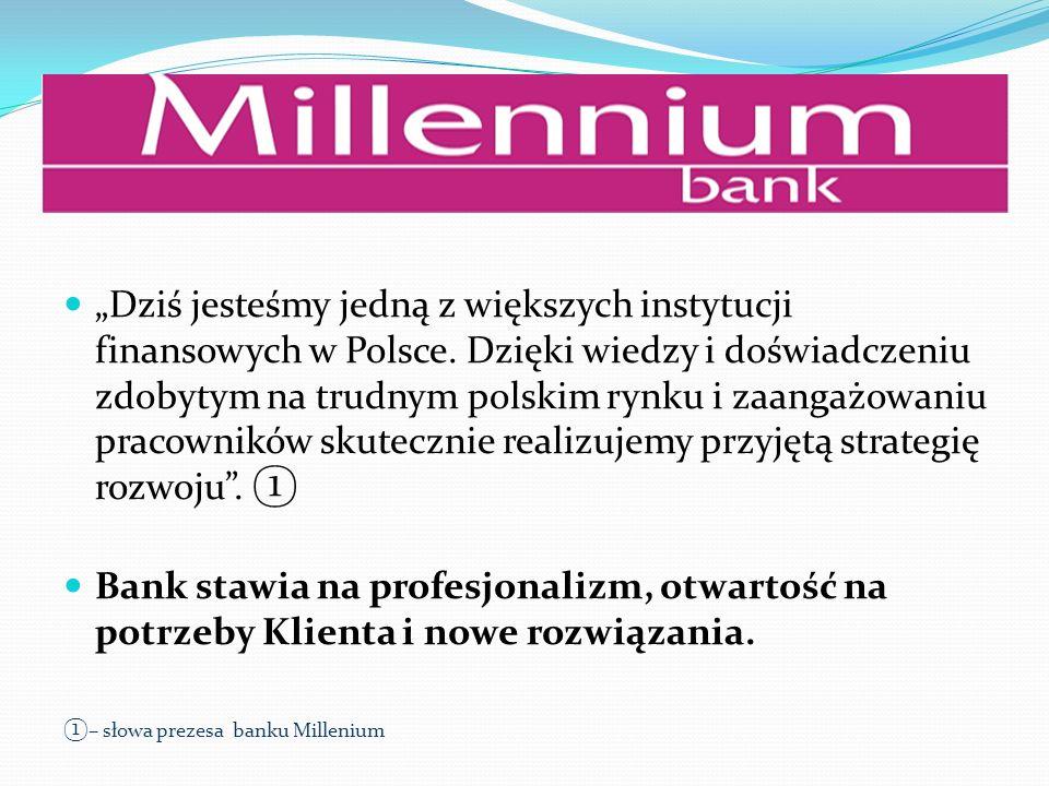 Dziś jesteśmy jedną z większych instytucji finansowych w Polsce. Dzięki wiedzy i doświadczeniu zdobytym na trudnym polskim rynku i zaangażowaniu praco