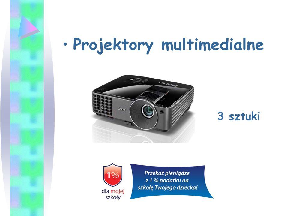 Projektory multimedialne 3 sztuki
