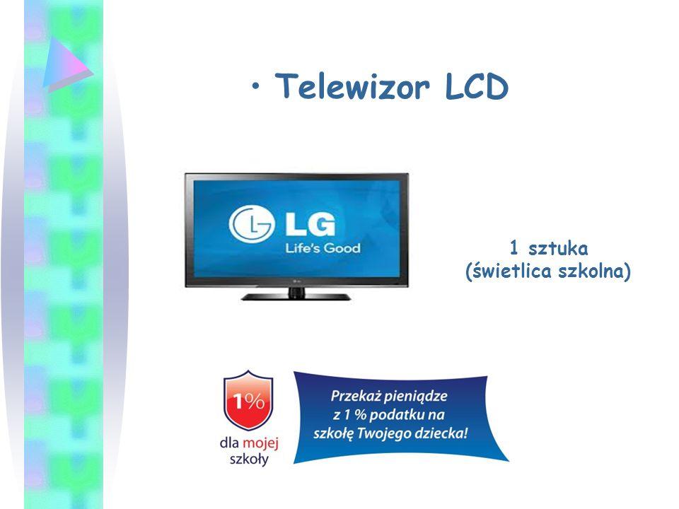 Telewizor LCD 1 sztuka (świetlica szkolna)