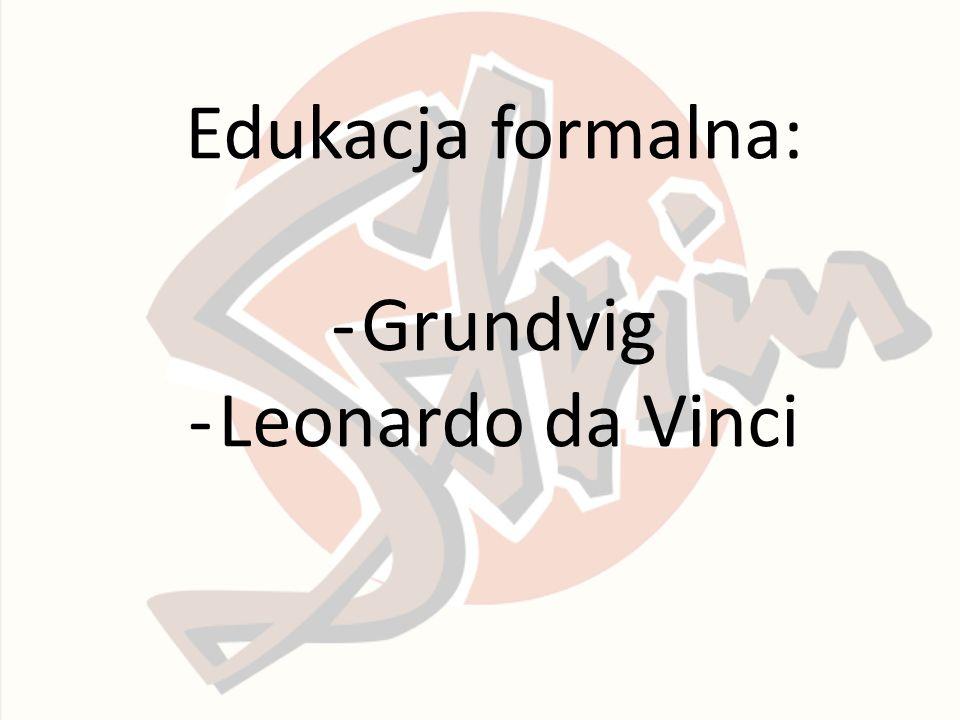 Edukacja formalna: -Grundvig -Leonardo da Vinci