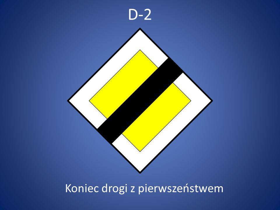 D-48 Zmiana pierwszeństwa
