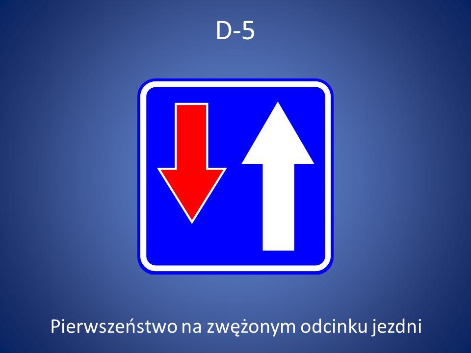 D-14 Koniec pasa ruchu
