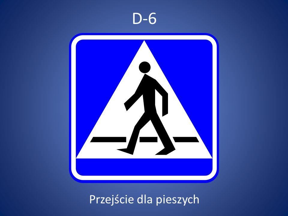 D-6a Przejazd dla rowerzystów