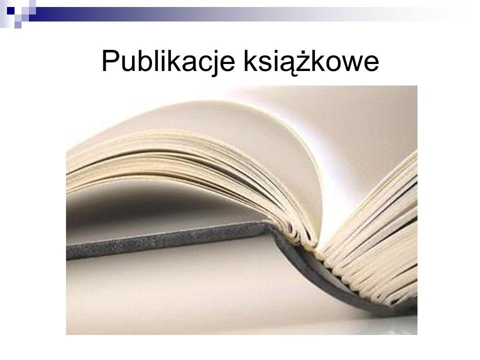Publikacje książkowe