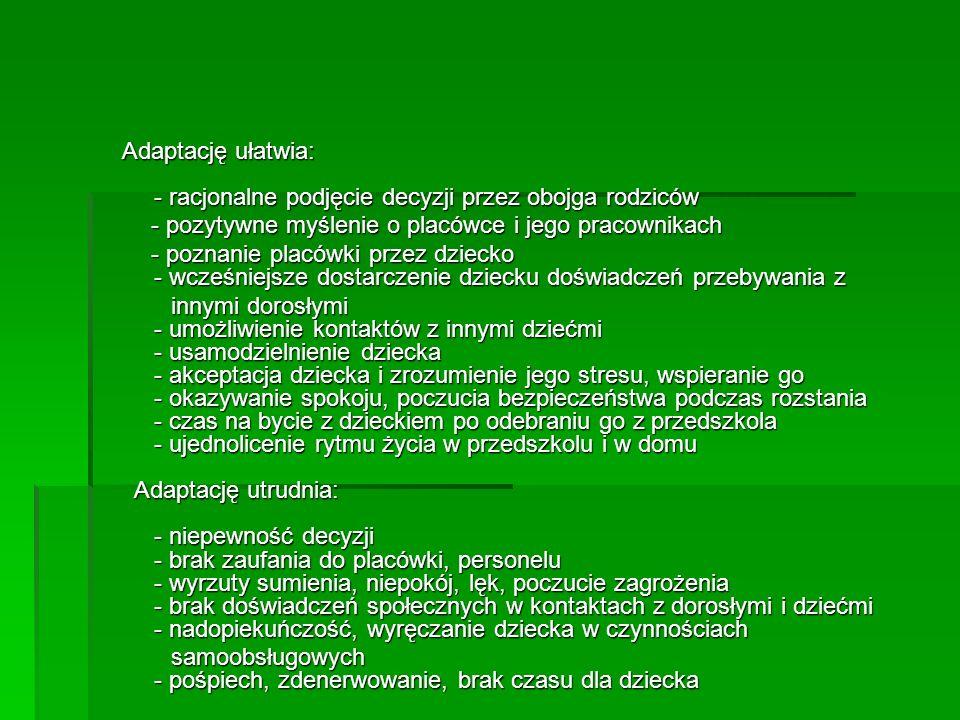 SPOTYKAMY SIĘ RAZEM NA ADAPTACJI 26 – 30 sierpnia 2013 od godz.