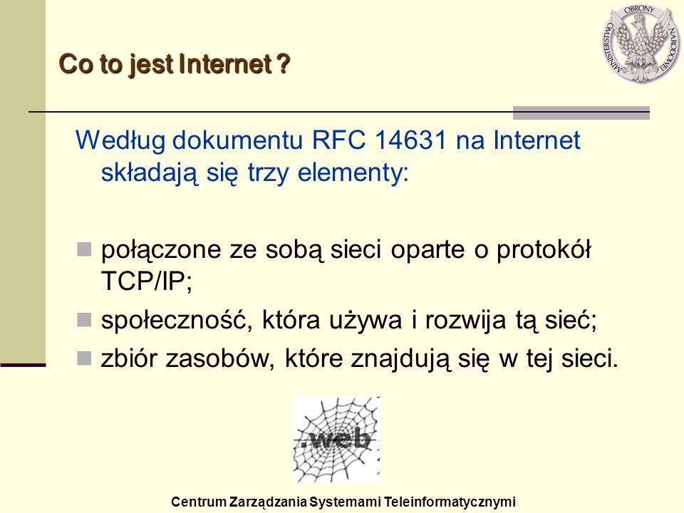 Centrum Zarządzania Systemami Teleinformatycznymi dotarcie do 50 mln użytkowników zajęło...