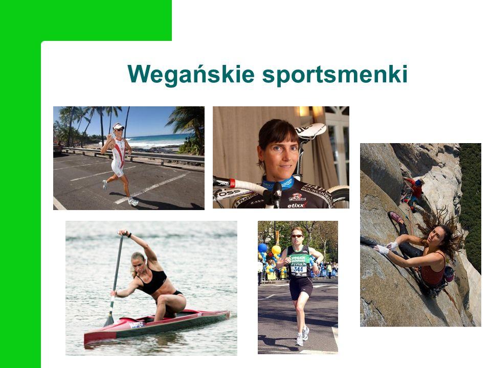 Ciekawe strony o wege sportowcach www.veganbodybuilding.com www.brendanbrazier.com www.veganrunners.org www.organicathlete.org www.nomeatathlete.com