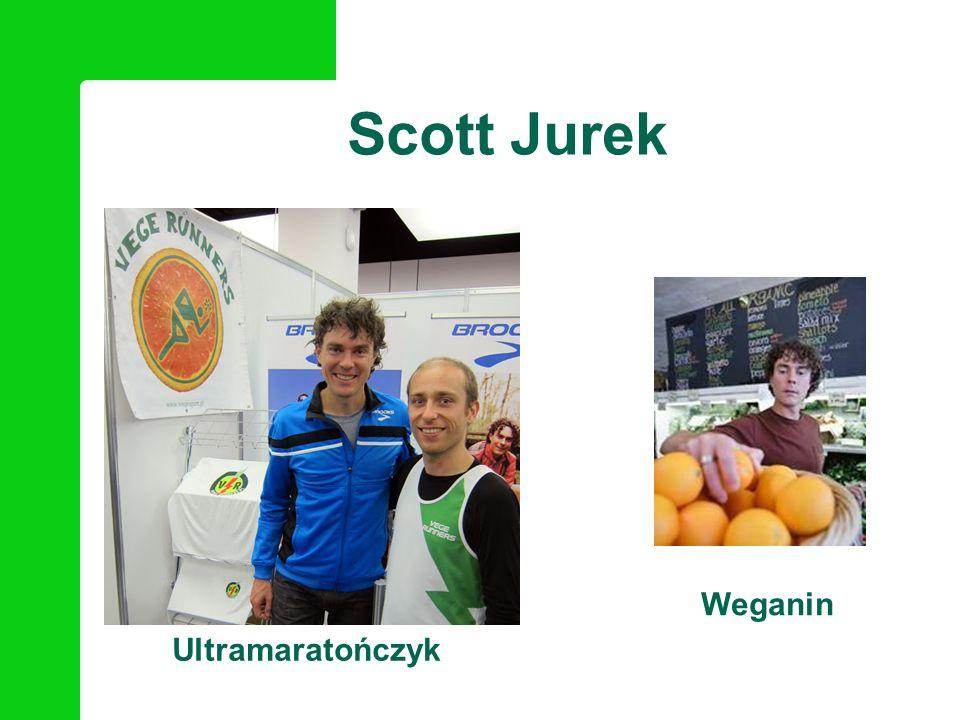 Osiągnięcia: siedmiokrotny zwycięzca Western States 100 Mile Endurance Run (1999-2005) trzykrotny zwycięzca 247km biegu Spartathlon (2006- 2008) dwukrotny zwycięzca 217km Badwater Ultramarathon (2005-2006) zwycięzca Hardrock 100 Mile Endurance Run (2007) Scott Jurek