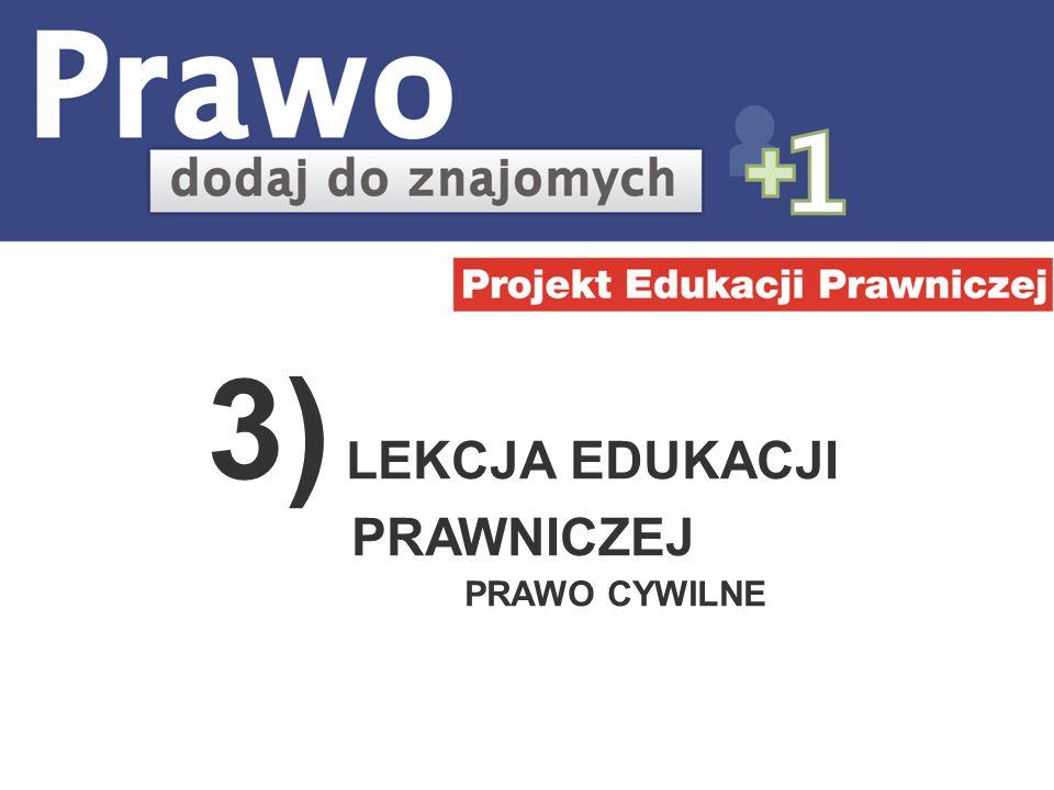 Witamy w części e-learningowej projektu Prawo – dodaj do znajomych.