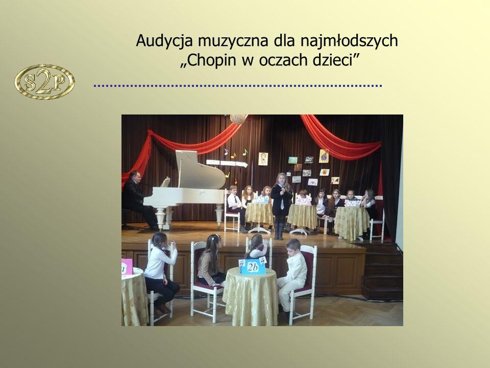 Audycja muzyczna dla najmłodszych Chopin w oczach dzieci