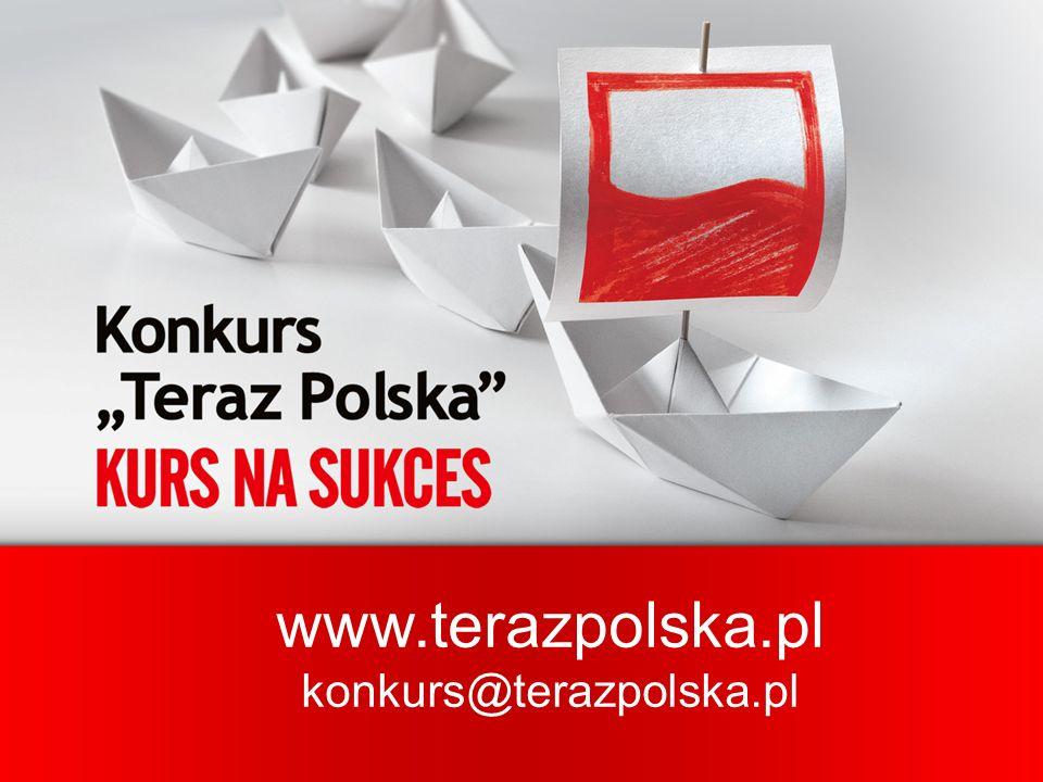www.terazpolska.pl konkurs@terazpolska.pl