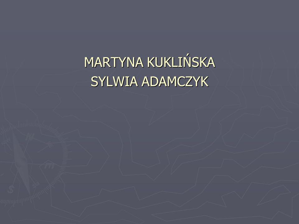 MARTYNA KUKLIŃSKA SYLWIA ADAMCZYK