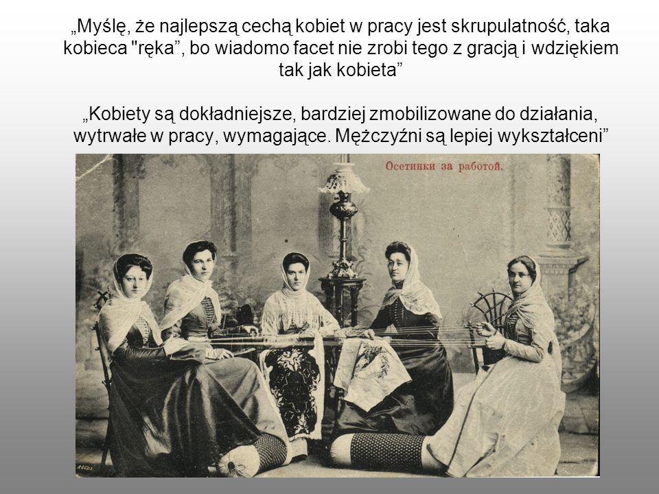 Myślę, że najlepszą cechą kobiet w pracy jest skrupulatność, taka kobieca