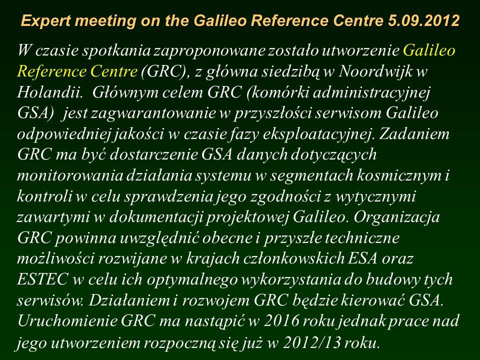 Galileo Mission Consolidation Review 27-29.03.2012 Problem, który pojawił się było zmniejszenie TTFF (Time to First Fix), przy jednoczesnym utrzymaniu