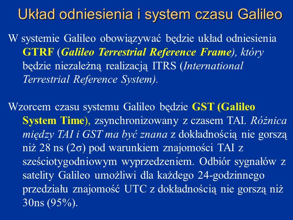 Centra kontroli segmentu naziemnego : 1)GCS (Ground Control System) mający kontrolować stan techniczny satelitów i uzupełniać braki w konfiguracji sat