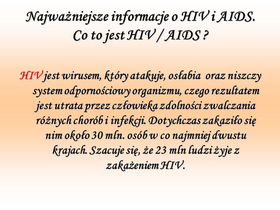 Trochę mitów o HIV i AIDS Pocałunek a HIV Nie ma opisanych przypadków zakażenia HIV przez pocałunek.