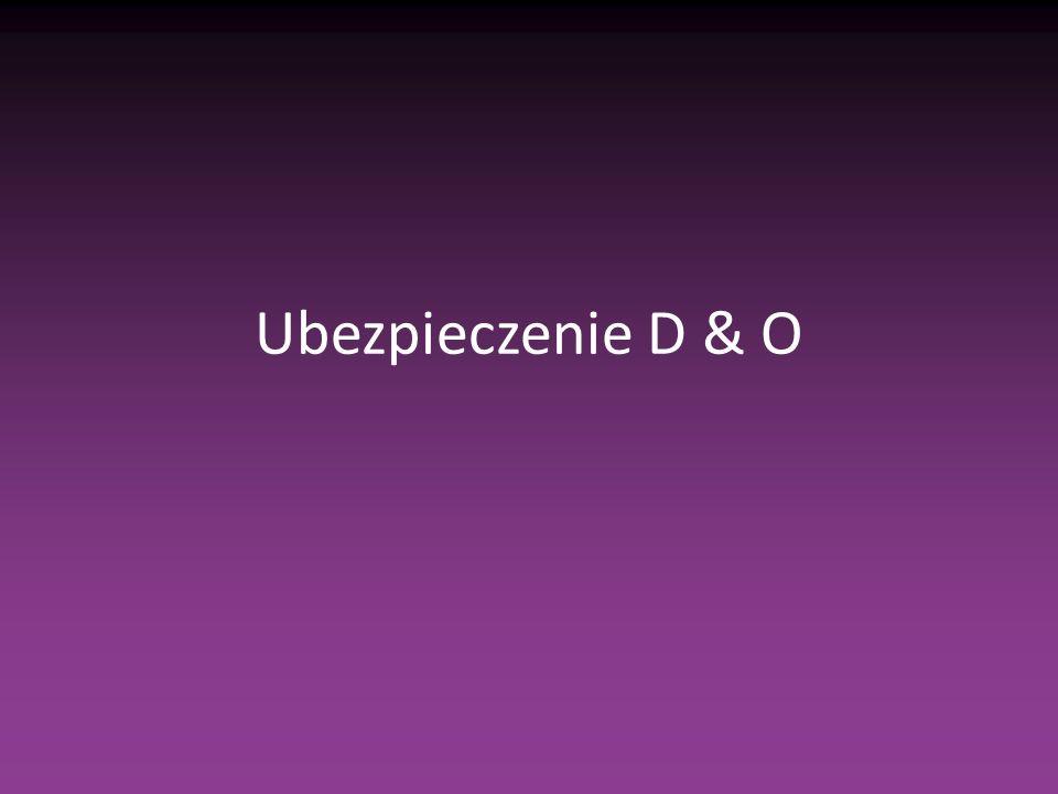 Ubezpieczenie D & O