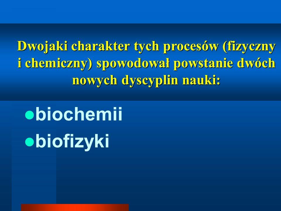 biochemii biofizyki