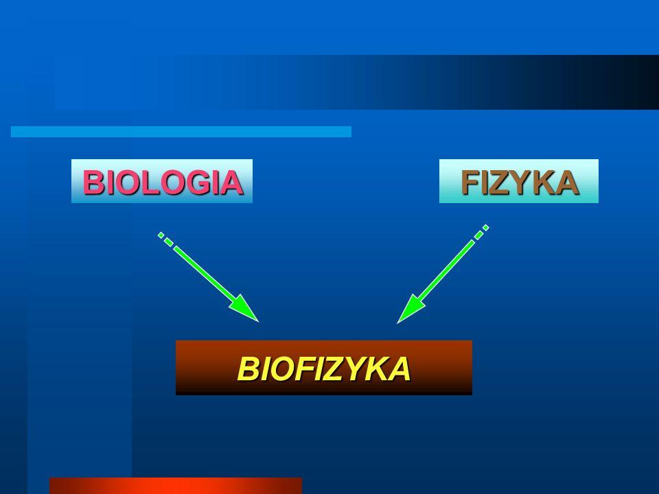 BIOFIZYKA FIZYKABIOLOGIA