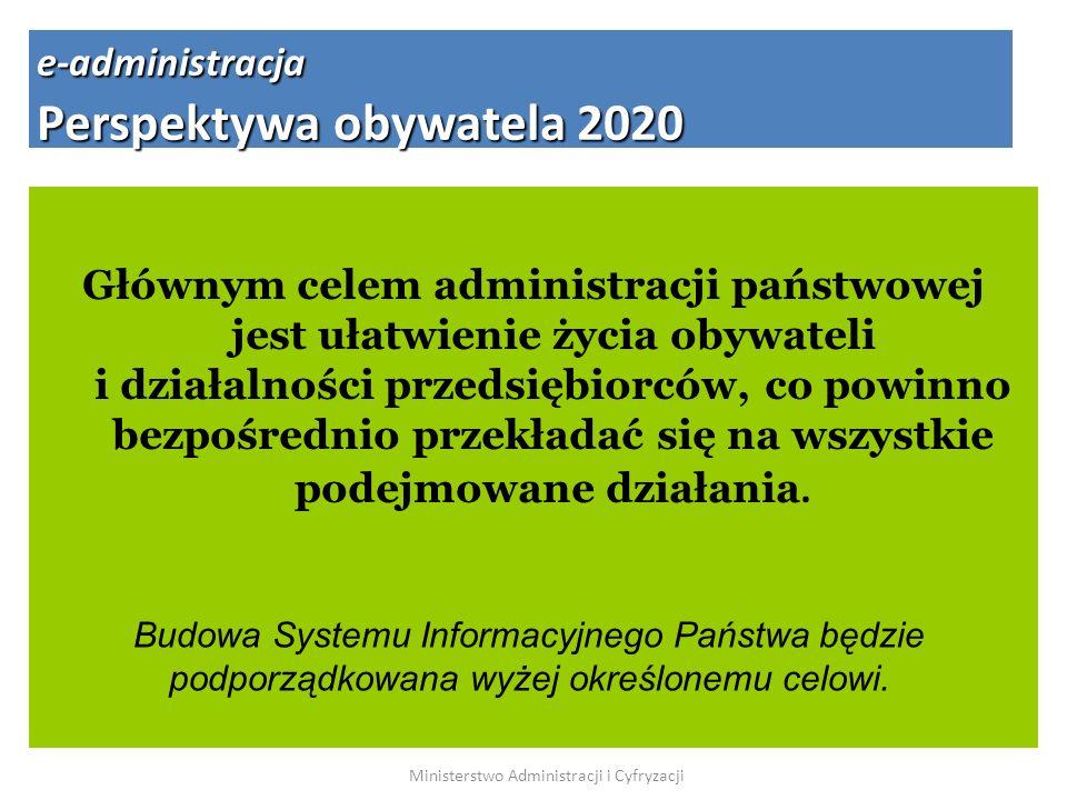 Głównym celem administracji państwowej jest ułatwienie życia obywateli i działalności przedsiębiorców, co powinno bezpośrednio przekładać się na wszys