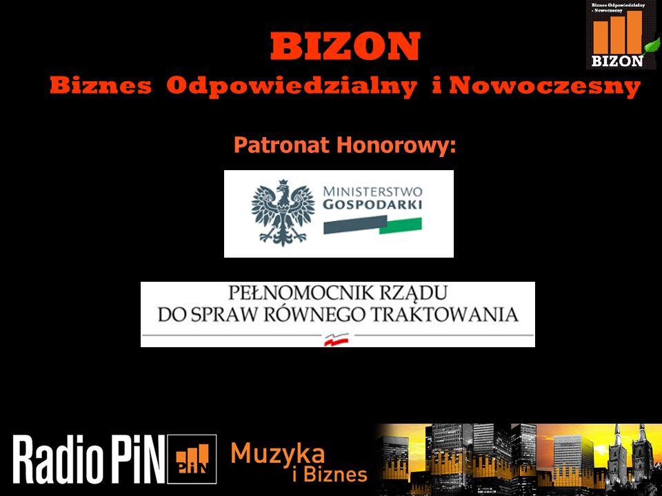 11/5/20131 BIZON Biznes Odpowiedzialny i Nowoczesny Patronat Honorowy: