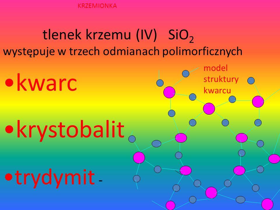 BUDOWA KRYSZTAŁU KRZEMU W sieci krystalicznej krzemu występują wiązania atomowe. Atomy w sieci są rozmieszczone w takich odległościach, że ich powłoki