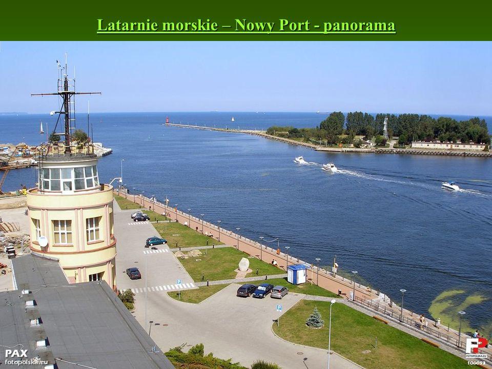 Latarnie morskie – Nowy Port - panorama Latarnie morskie – Nowy Port - panorama
