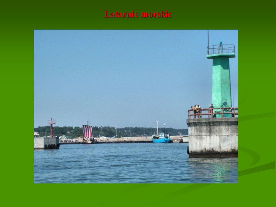 Stare latarnie morskie były murowanymi wieżam i z paleniskiem, tzw. garnkiem Wulkana.