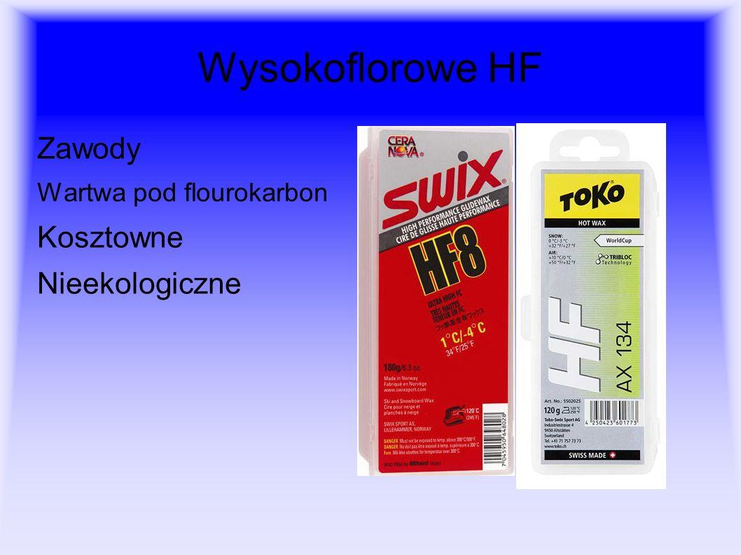 Wysokoflorowe HF Zawody Wartwa pod flourokarbon Kosztowne Nieekologiczne