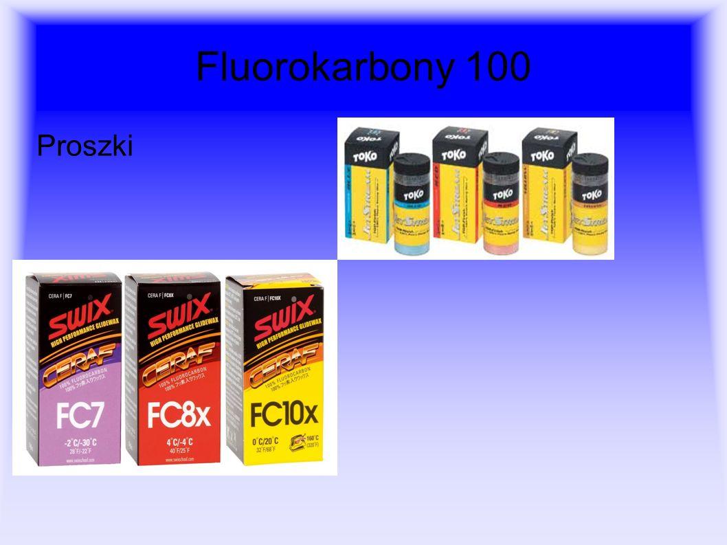 Fluorokarbony 100 Proszki