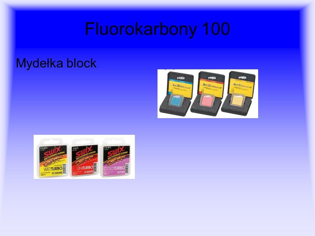 Fluorokarbony 100 Mydełka block
