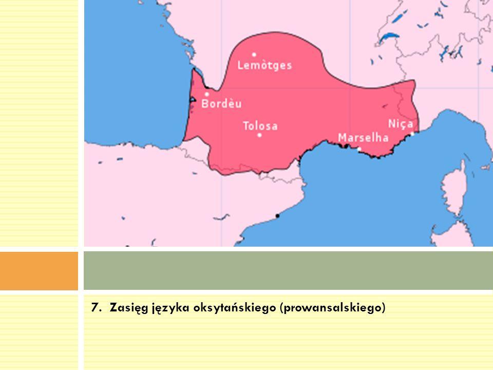 8.Język friulski (języki romańskie –zachodnioromańskie, rRetoromańskie.