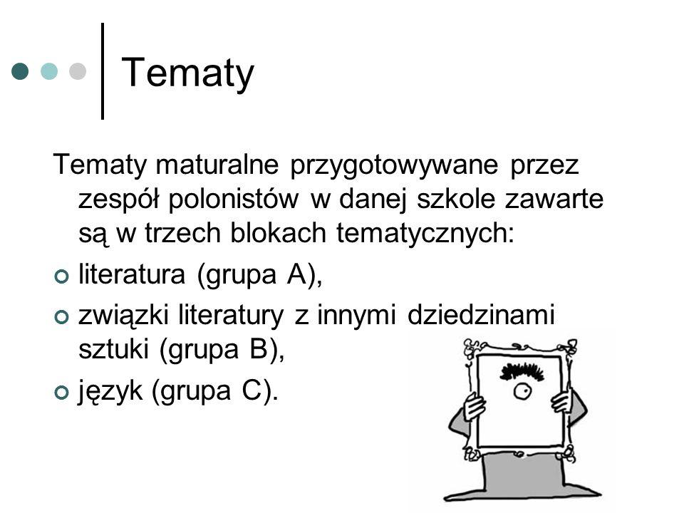 Opracowanie tematu TEMAT + NOTATKA objaśniająca brzmienie tematu i cele + HIPOTEZA BADAWCZA