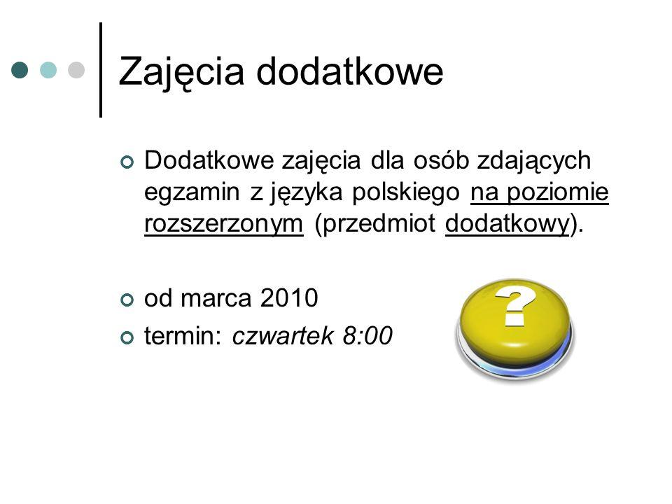 Egzamin maturalny z języka polskiego jako przedmiotu obowiązkowego składa się z dwóch części: a) ustnej – zdawanej na jednym poziomie b) pisemnej – zdawanej na poziomie podstawowym
