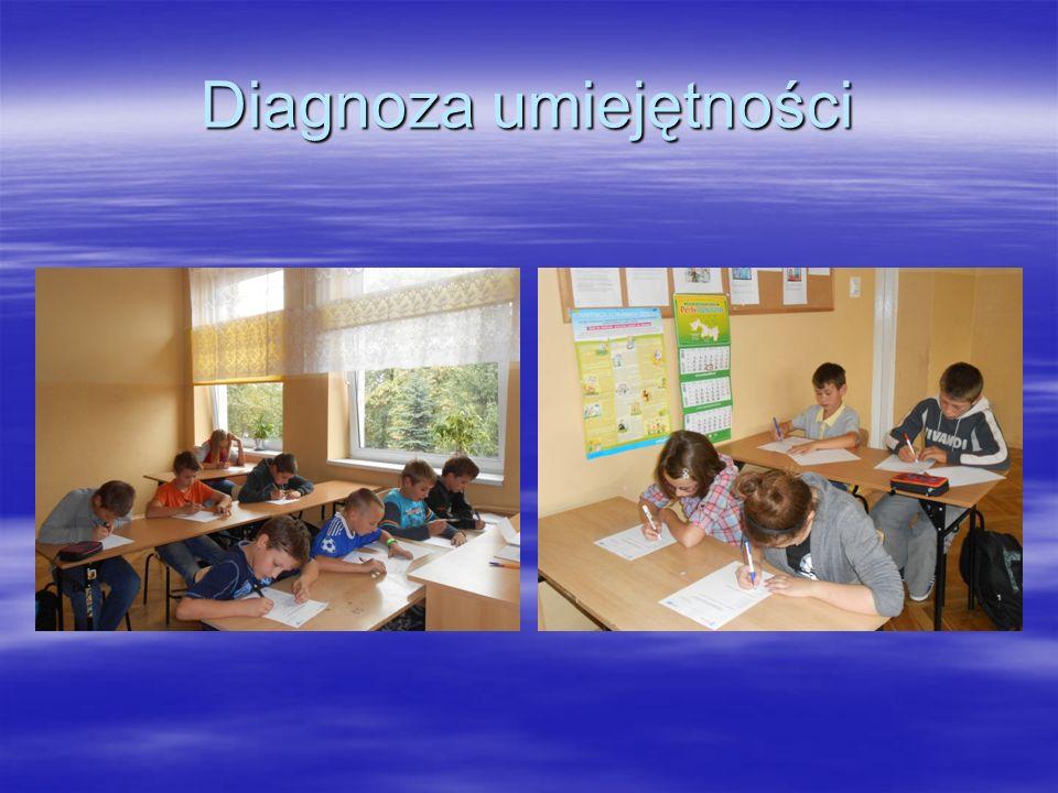 Diagnoza umiejętności