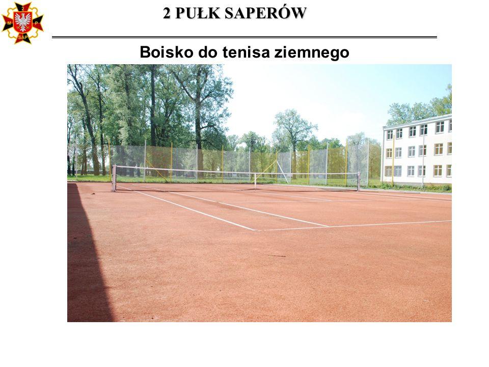 Boisko do tenisa ziemnego 2 PUŁK SAPERÓW
