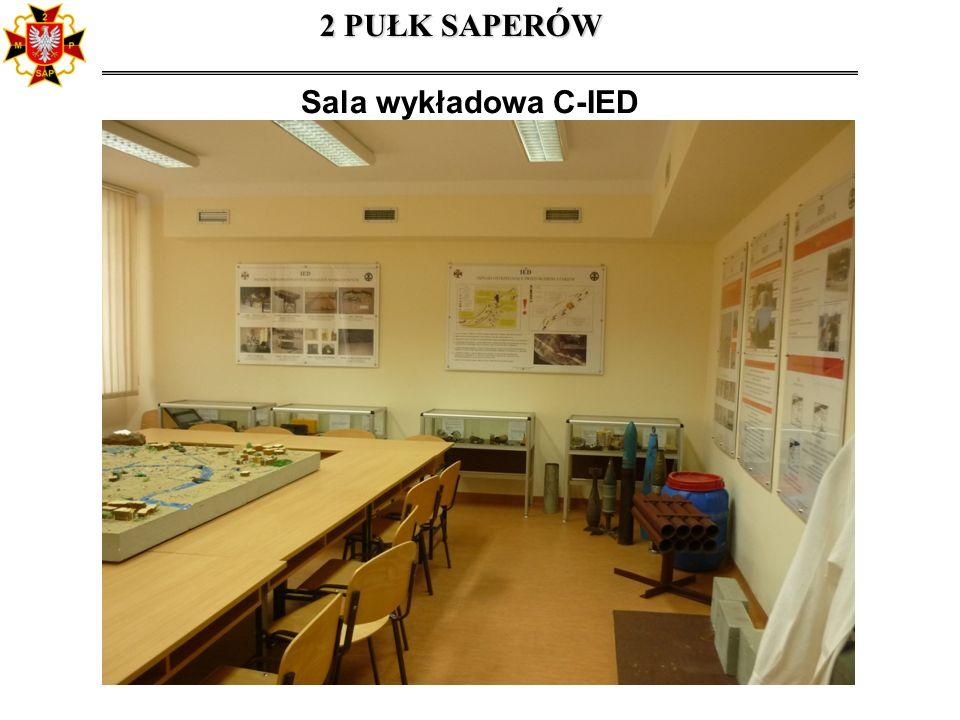 Sala wykładowa C-IED 2 PUŁK SAPERÓW