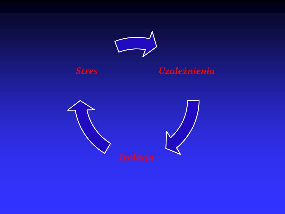 Uzależnienia Izolacja Stres