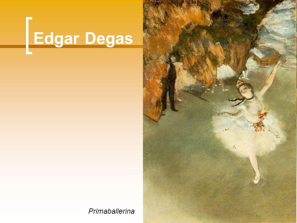 Edgar Degas Primaballerina