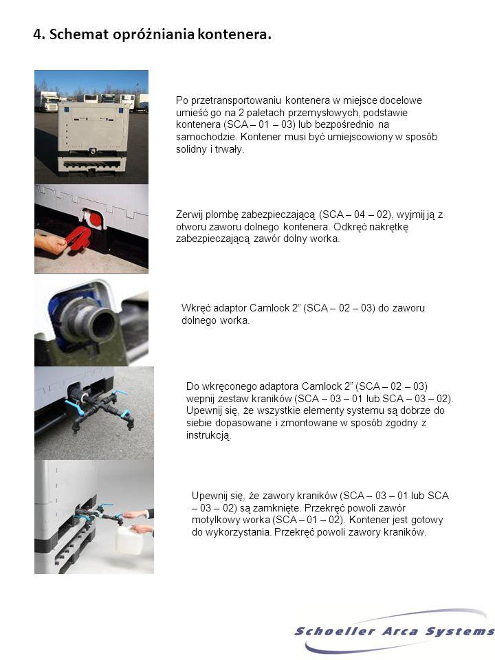 5. Schemat zakładania i zrywania plomb zaworu górnego i dolnego. Zawór górny: Zawór dolny: