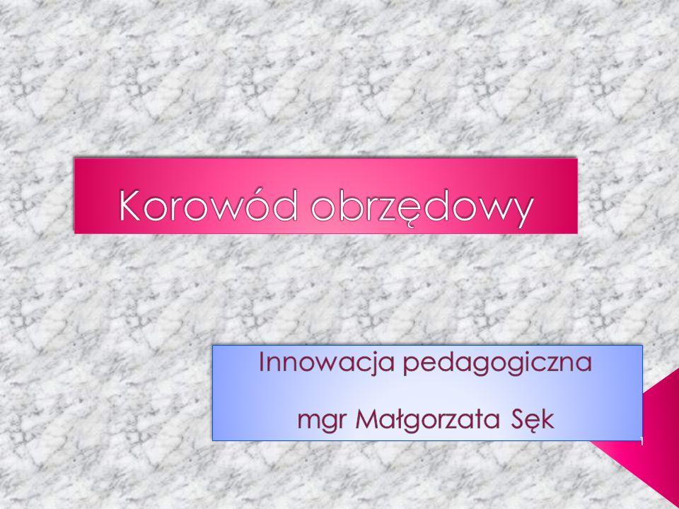 Idea powstania programu Cele edukacyjne Cele wychowawcze Charakterystyka programu Na czym polega innowacyjność programu.