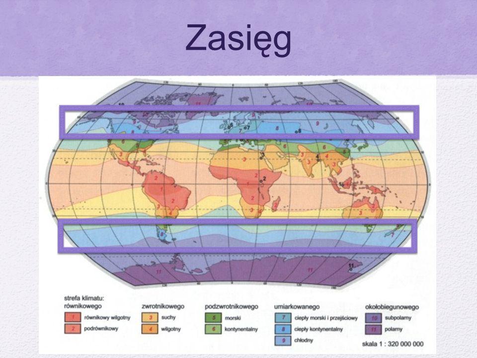 Typy Klimatu Kontynentalny Morski Przejściowy Wybitnie Kontynentalny