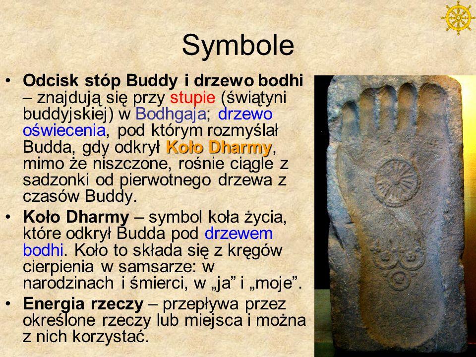 Założyciel Siddhartha Gautama, zwany Buddą (przebudzony, oświecony) urodził się ok.