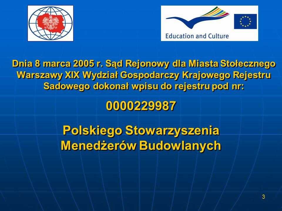 3 Dnia 8 marca 2005 r. Sąd Rejonowy dla Miasta Stołecznego Warszawy XIX Wydział Gospodarczy Krajowego Rejestru Sadowego dokonał wpisu do rejestru pod